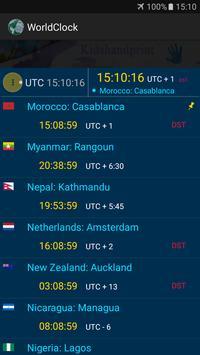 The  World Clock screenshot 1