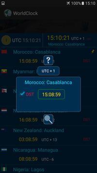 The  World Clock screenshot 2