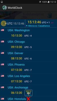 The  World Clock screenshot 4