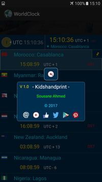 The  World Clock screenshot 5