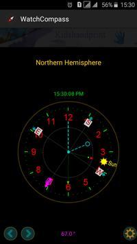 """Compass """"No magnetic sensor """" screenshot 6"""