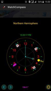 """Compass """"No magnetic sensor """" screenshot 7"""
