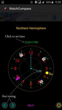"""Compass """"No magnetic sensor """" screenshot 3"""