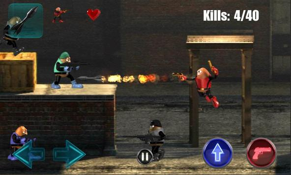 Killer Bean Unleashed screenshot 1