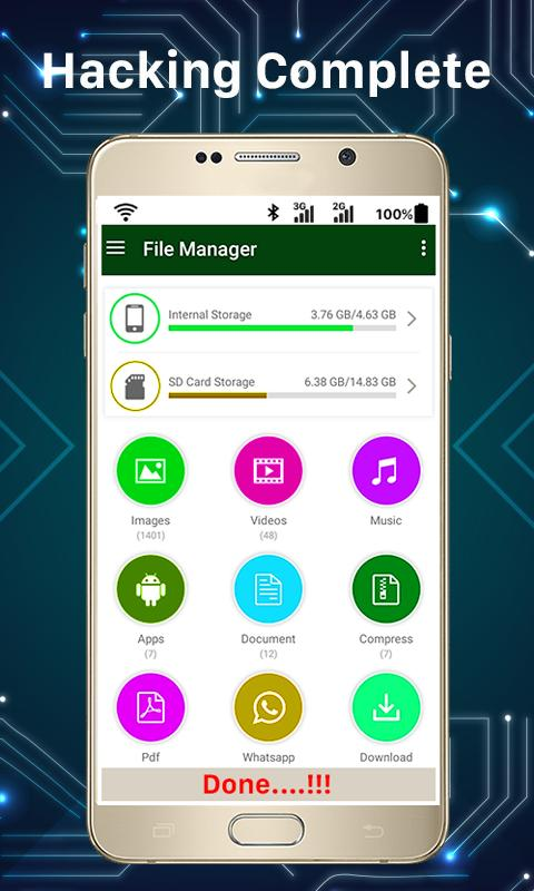 Mobile Hacked: Phone Hacker Prank for Android - APK Download