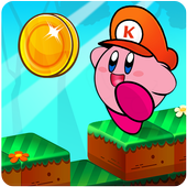 Kirby adventure game in dream land icon