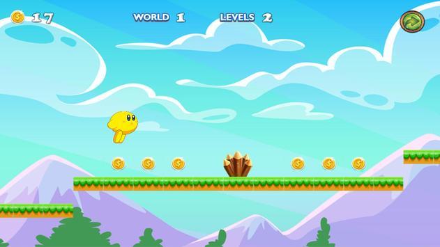Kirby adventure game in dream land screenshot 1