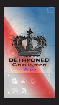 DETHRONED Companion App poster