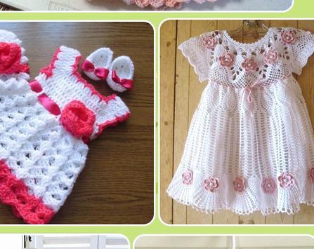Knitted Baby Dress Design screenshot 6