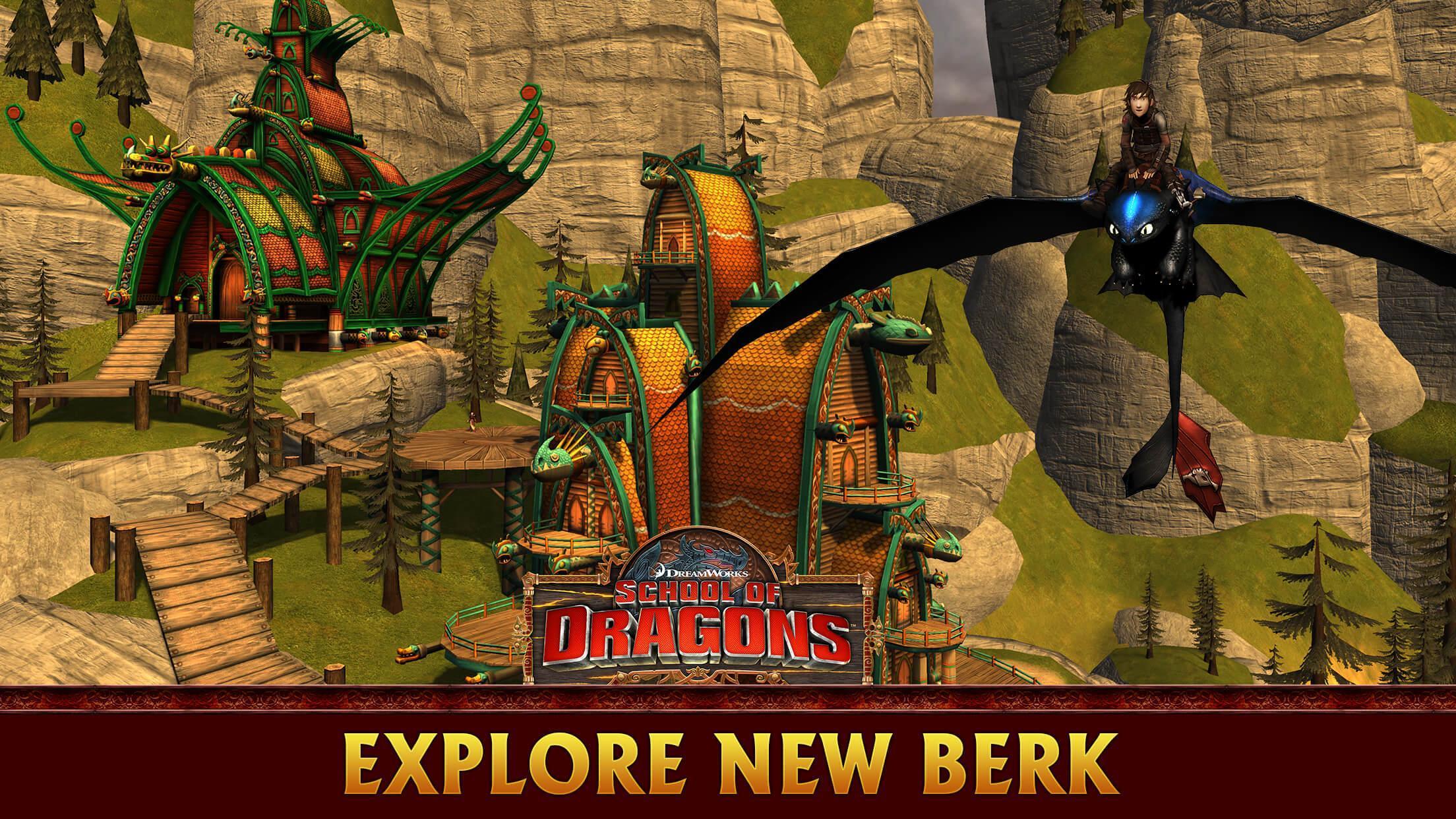 school of dragons mod apk offline