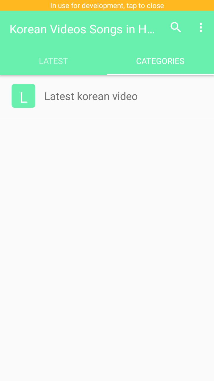Korean Videos Songs in Hindi - Korean Mix for Android - APK