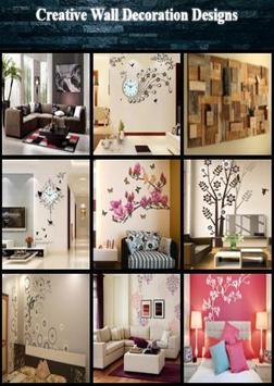 Creative Wall Decoration Designs screenshot 2