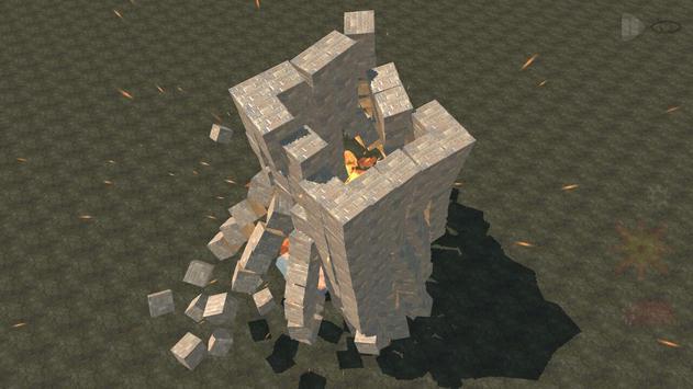 Block destruction simulator: cube rocket explosion screenshot 3