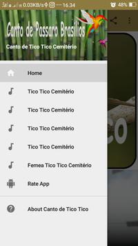 Canto de Tico Tico Cemitério poster