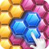 Hexa Block Jigsaw Zeichen