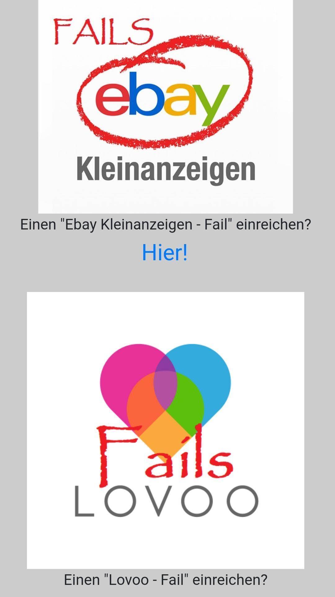 Ldm Lach Doch Mal Kleinanzeigen Lovoo Fails For Android Apk Download