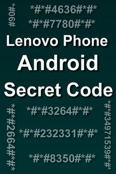 Mobiles Secret Codes of LENOVO screenshot 4
