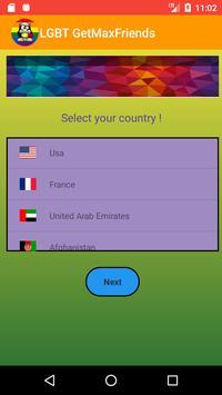 LGBT Get Max Friends - Make LGBT Snapchat friends screenshot 1