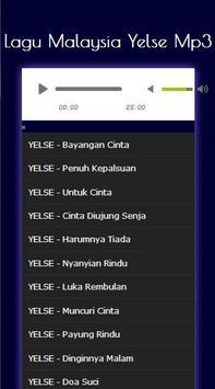 Lagu Malaysia Yelse Mp3 screenshot 9