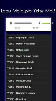 Lagu Malaysia Yelse Mp3 screenshot 1