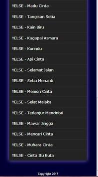 Lagu Malaysia Yelse Mp3 screenshot 2