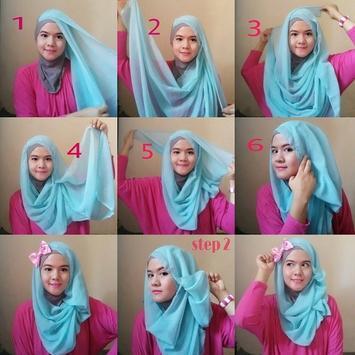 Hijab styles step by step screenshot 3