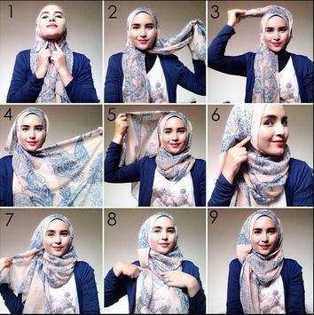Hijab styles step by step screenshot 4