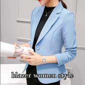blazer women style icon
