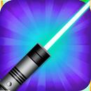 fake laser flashlight APK