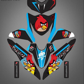 Motorcycle Sticker Design icon