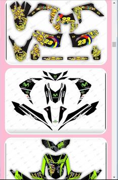 Motorcycle Sticker Design screenshot 1