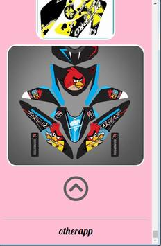 Motorcycle Sticker Design screenshot 2