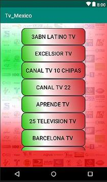 Mexico TV HD : Live and Replay screenshot 3