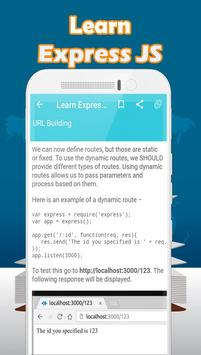 Learn Express js for Android - APK Download