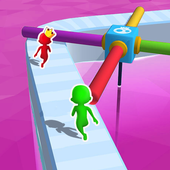 Funny Run 3D: Crowd Fun Human Race 2019 icon