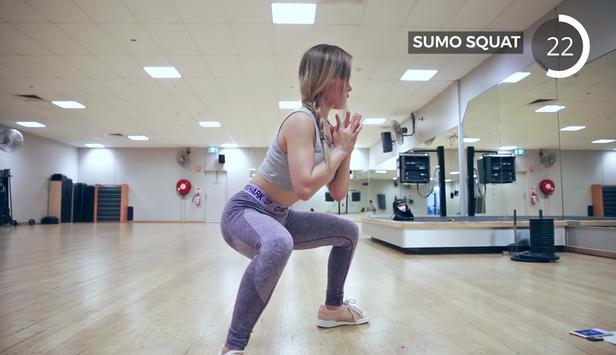 Thigh Gap Exercises screenshot 3