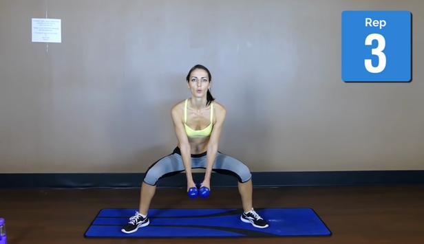 Thigh Gap Exercises screenshot 4