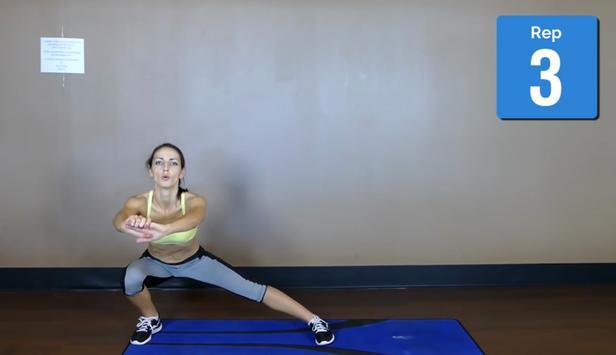 Thigh Gap Exercises screenshot 5