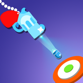 Gun swinging icon