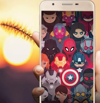 Superhero Wallpapers poster