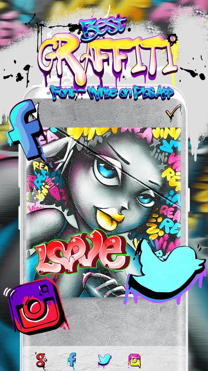 Gambar Latar Grafiti - Contoh Gambar Latar