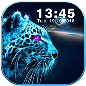 Animal Galaxy Neon Live Wallpapers icon