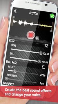 लाइव आवाज परिवर्तक स्क्रीनशॉट 2