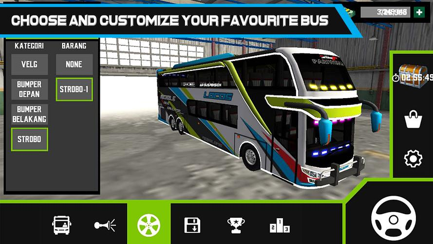 Mobile Bus Simulator