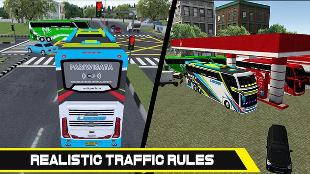 Mobile Bus Simulator screenshot 2