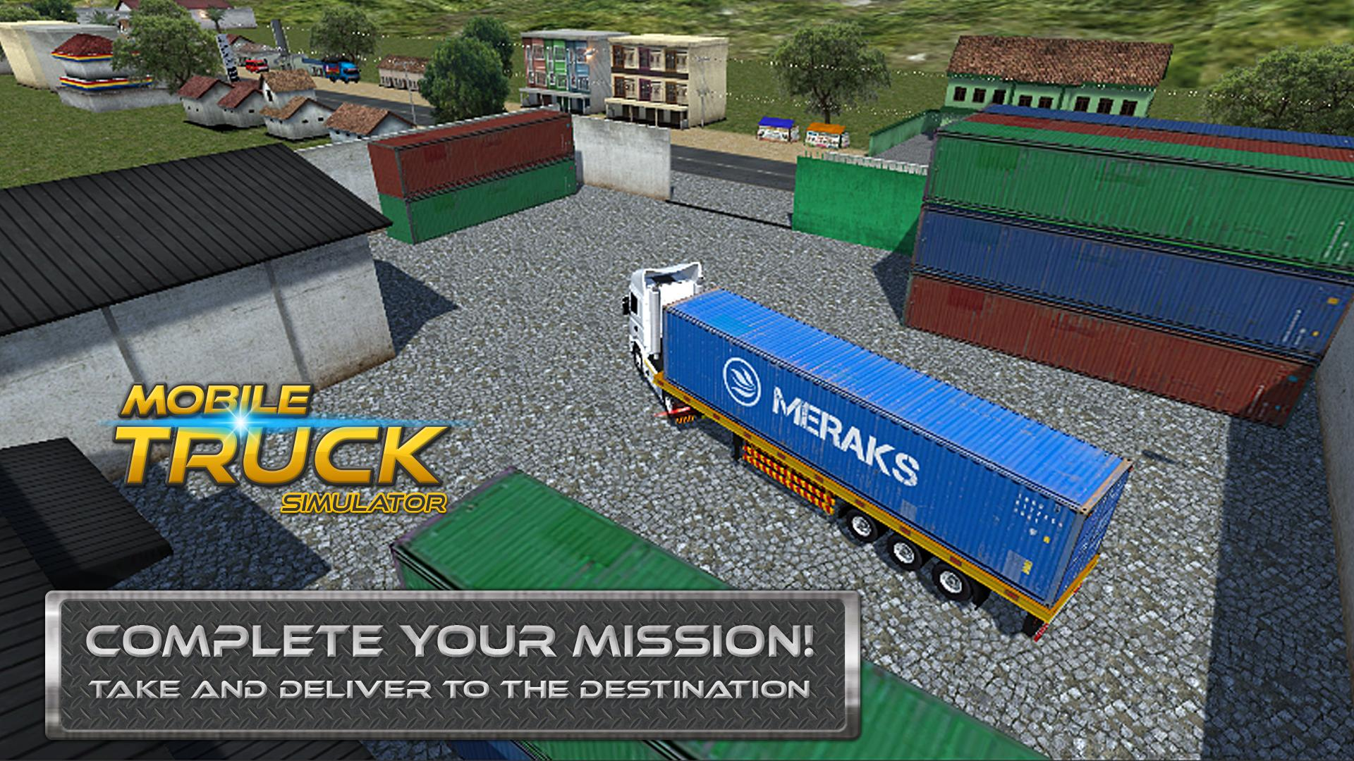 Download game a Mobile Truck Simulator