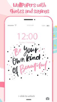 Lock Screen Wallpaper For Girls With Quotes For Android