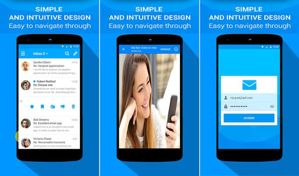 Email App for AOL Mail Mobile Login poster