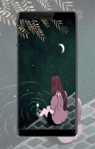 Lonely Sad Girl Wallpapers For Android Apk Download