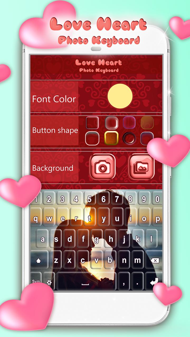Love Heart Photo Keyboard for Android - APK Download